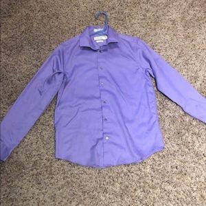 Purple Calvin Klein Dress shirt